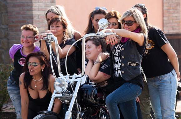 Raduno : Lady Harley Davidson