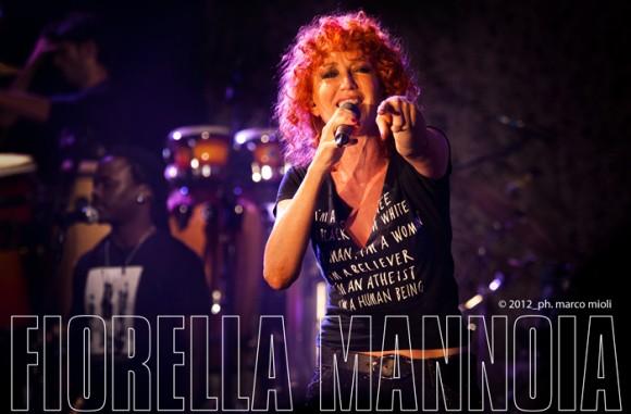 Fiorella Mannoia  :  concerto