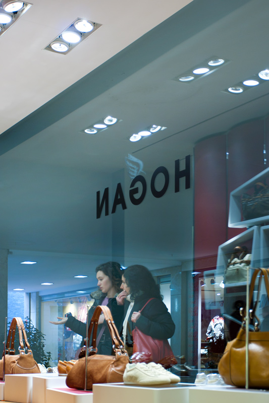 negozio hogan galleria cavour bologna