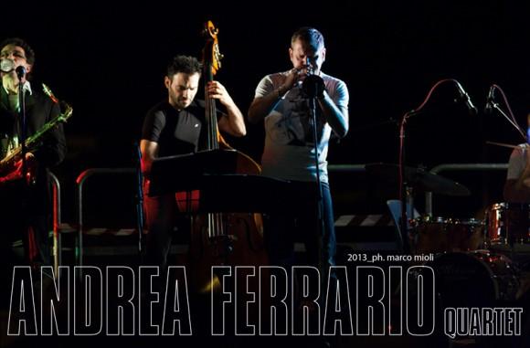 andrea ferrario quartet  :  concerto