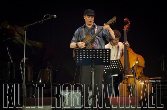 Kurt Rosenwinkel quartet  :  CUBO Unipol
