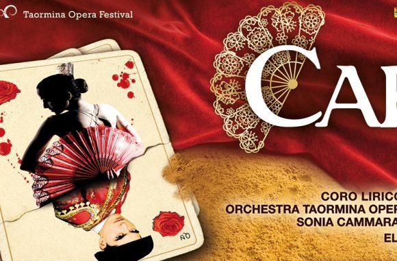 Teatro Antico Taormina  :  Carmen
