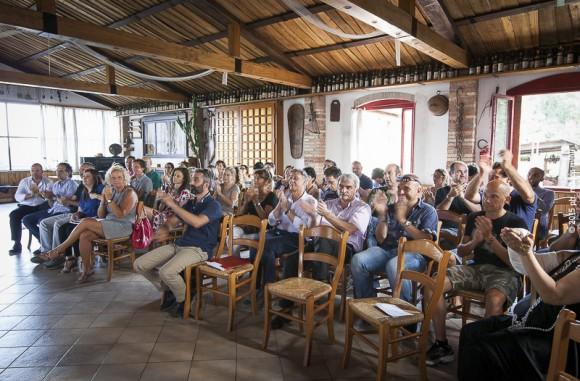 Accademia del Benessere  :  Publicenter riunione luglio 2015