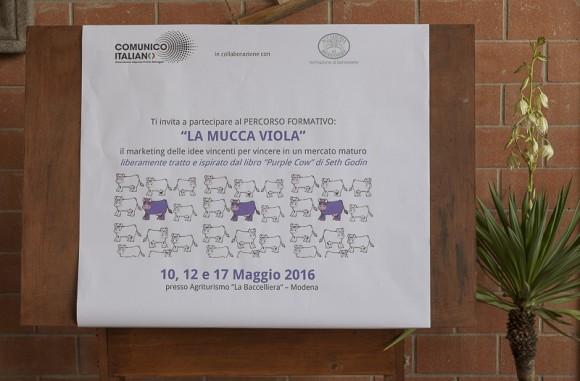 Accademia del Benessere  :  mucca viola
