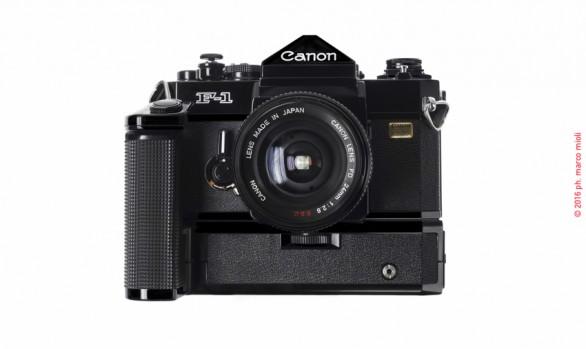 Canon F1 N Old 1976  :  collezione privata