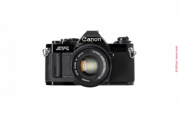 Canon AV-1 New 1979 :  collezione privata