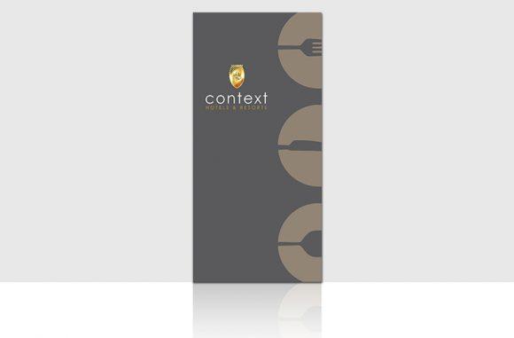 Context Hotel & Resort :  menu