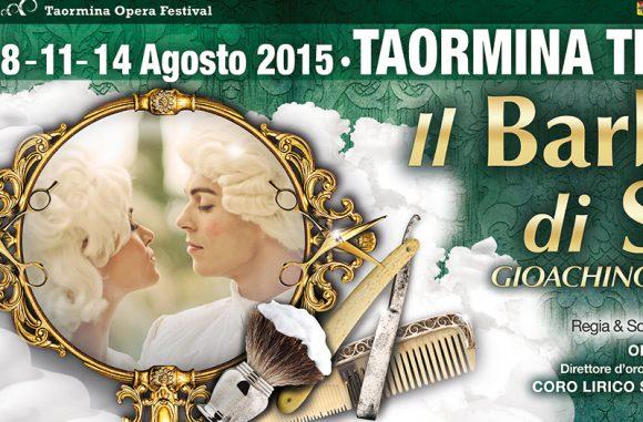 Teatro Antico Taormina  :  il Barbiere di Siviglia