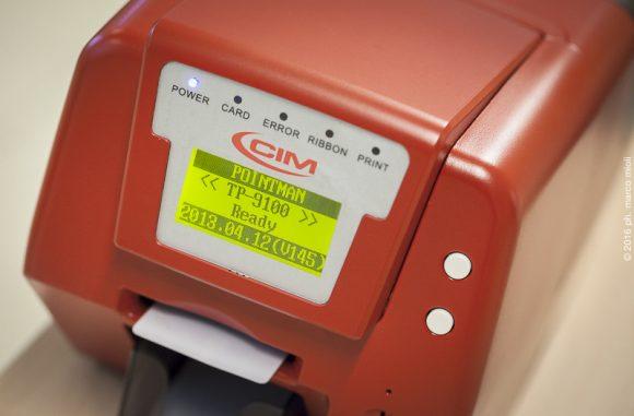 CIM  :  stampanti per card
