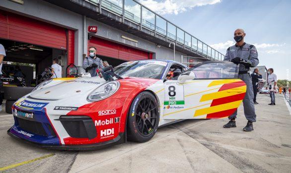 Massimiliano Serra  :  Q8 Hi Perform Porsche Cup 2020 Imola