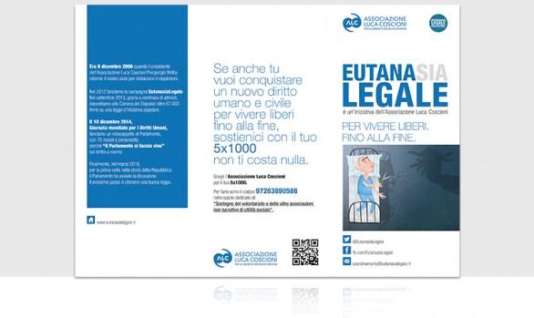 Luca Coscioni associazione : 5x1000