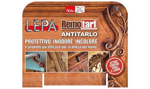 Acem  :  espositore LEPA Remotarl